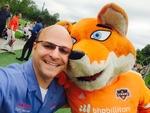Dynamo mascot selfie