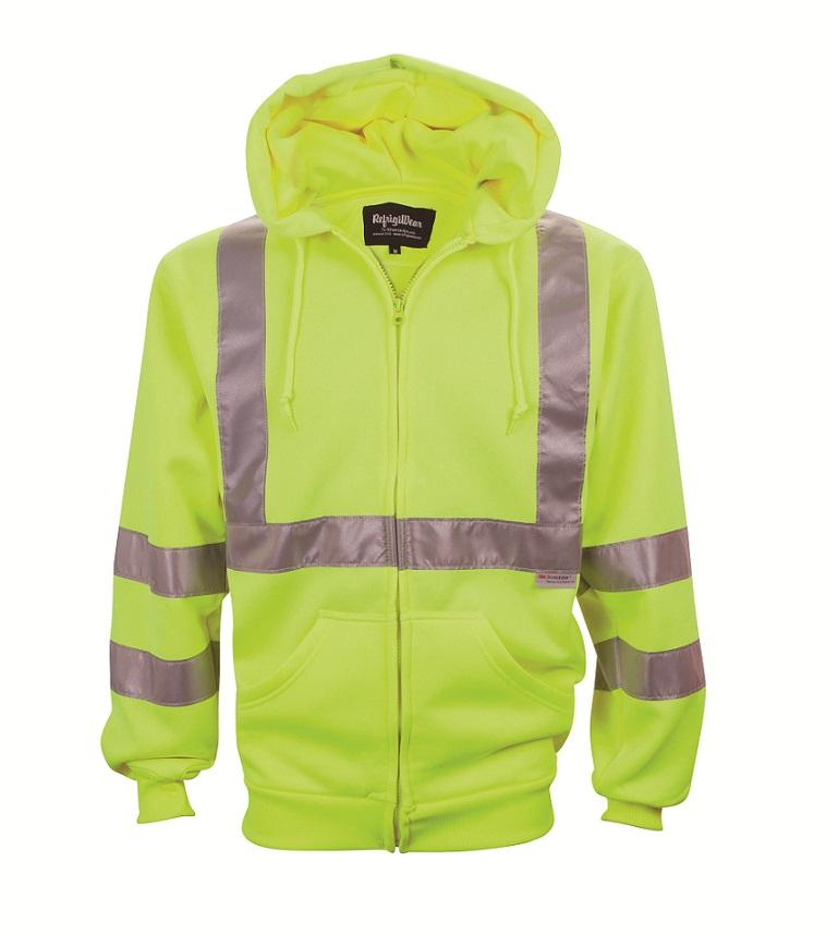 Mens Hi Vis Sweatshirt Hivis Lime 3xl