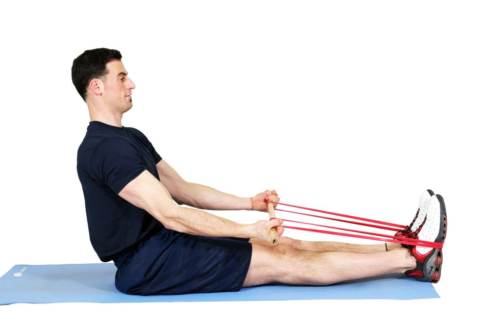 Seated Band Rows