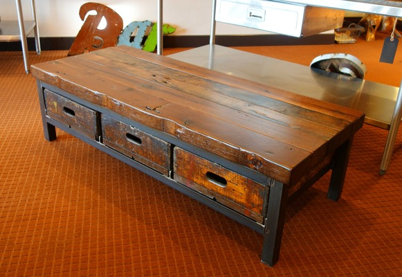 #512 Coffee Table w/ Drawers