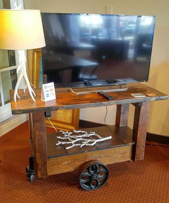 Railroad Bar Cart