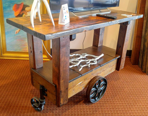 Railroad Bar Cart