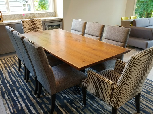 Walnut X-Base Table