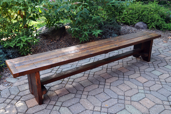 #403 Reclaimed 8' Bench
