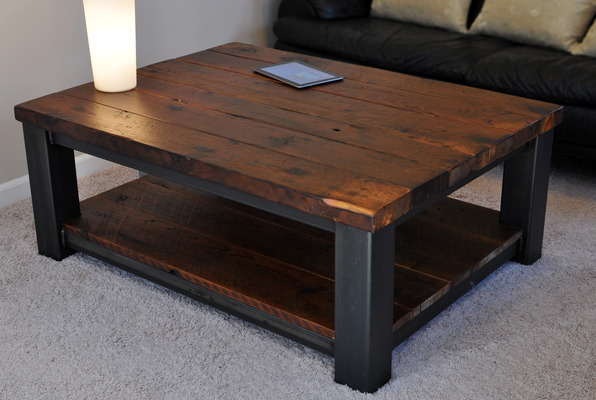 Incredible Rustic Coffee Table 596 x 400 · 95 kB · jpeg