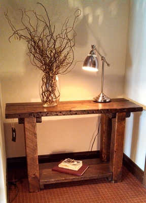 #439 Reclaimed Sofa Table