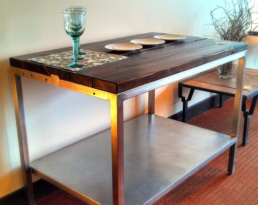 #457 Stainless Cutting Table