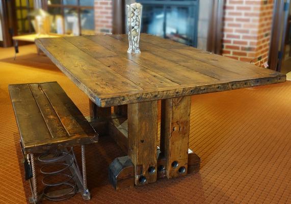 #496 6FT Trestle Table