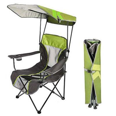 Swimways Premium Canopy Chair Lime Grn