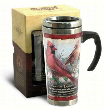 American Expedition 24 oz Steel Travel Mug Cardinal