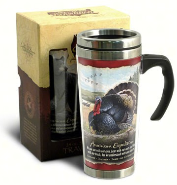 American Expedition 24 oz Steel Travel Mug Turkey