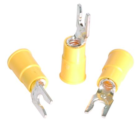 3M 12-10 Awg Vinyl Insulated Locking Fork Terminals - 25/Bag - Size 6 at Sears.com