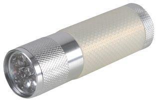 Pro Elec 9 Led Flashlights - Silver