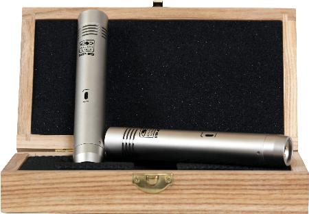 Galaxy Audio Studio Condenser Microphones Matched Pair With Case at Sears.com