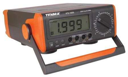 TENMA Benchtop Digital Multimeter With Capacitance, Frequency & Temp