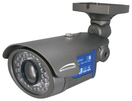 Speco 600Tvl Day/Night Outdoor Bullet Camera W/ 6~50Mm Varifocal Lens