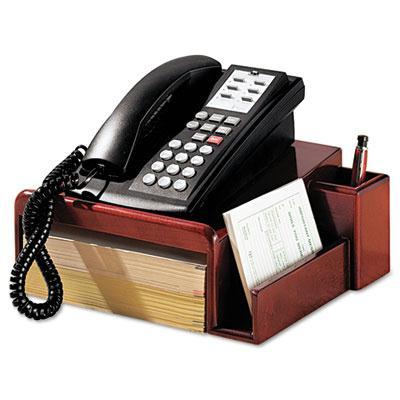Rolodex Wood Tones™ Phone Center Desk Stand