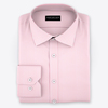 Cooper pink micro twill sq small