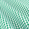 Bishop meander green micro twill fabric copy small