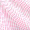 Bishop meander medium dk pink micro twill fabric small