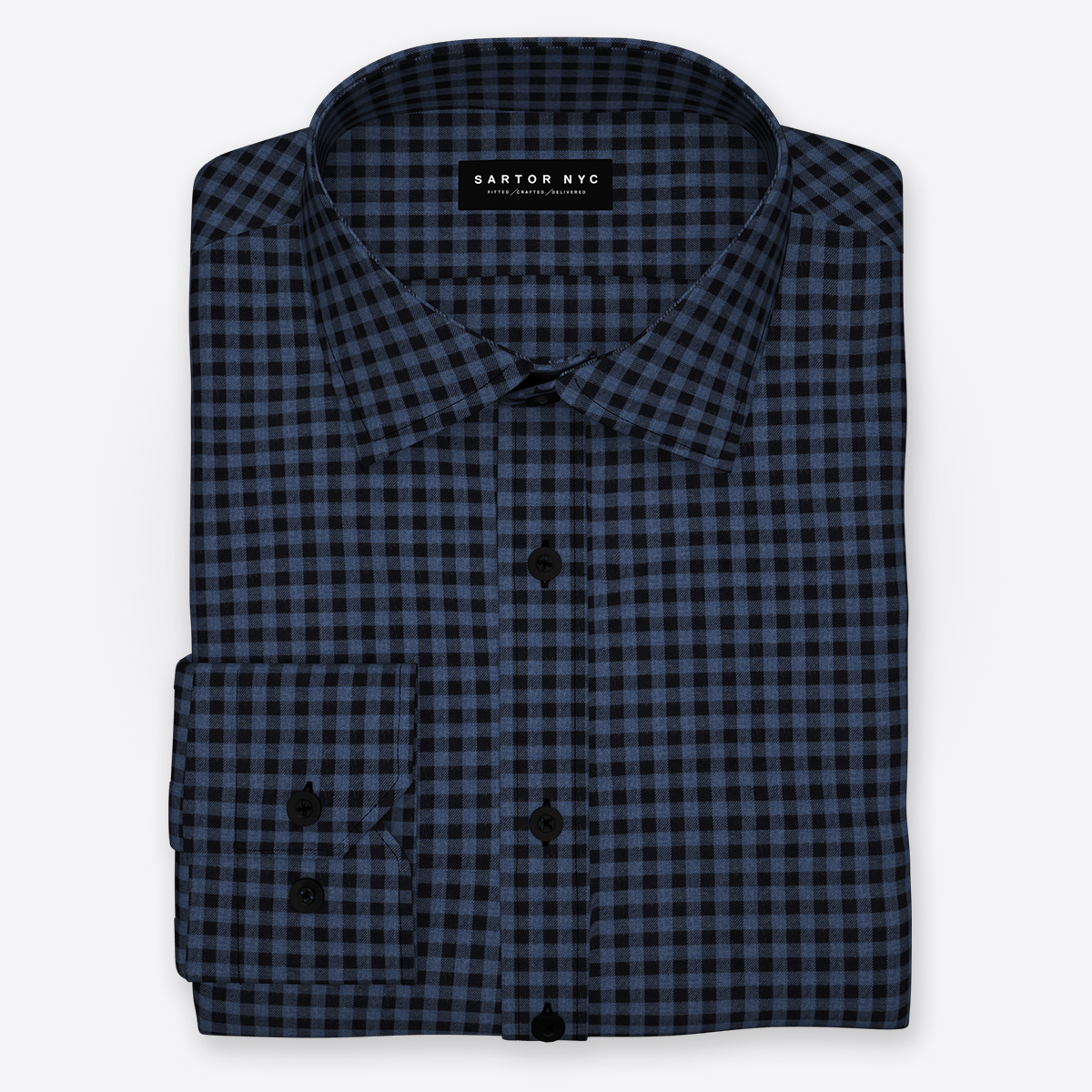 3108 16 mendoza flanela blue black gingham sq  huge