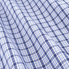 7121 13 borneo blue check fabric small