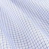 7122 15 sashay blue check fabric small