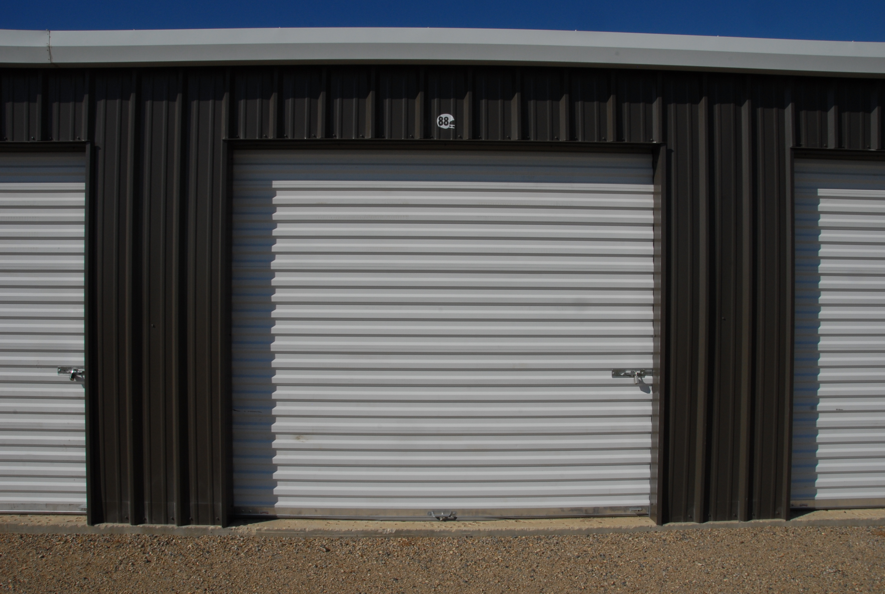 Type E = 12′x15′ by 10′ tall SaskWatch Storage, Moose Jaw, SK