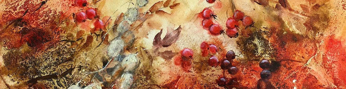Autumn glory banner
