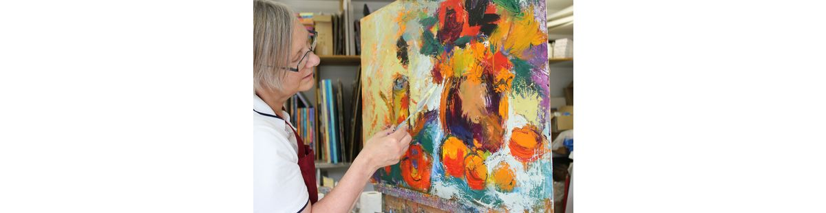 Me and palette knife