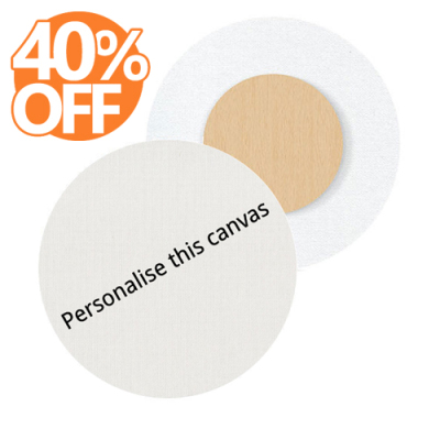 Round canvas