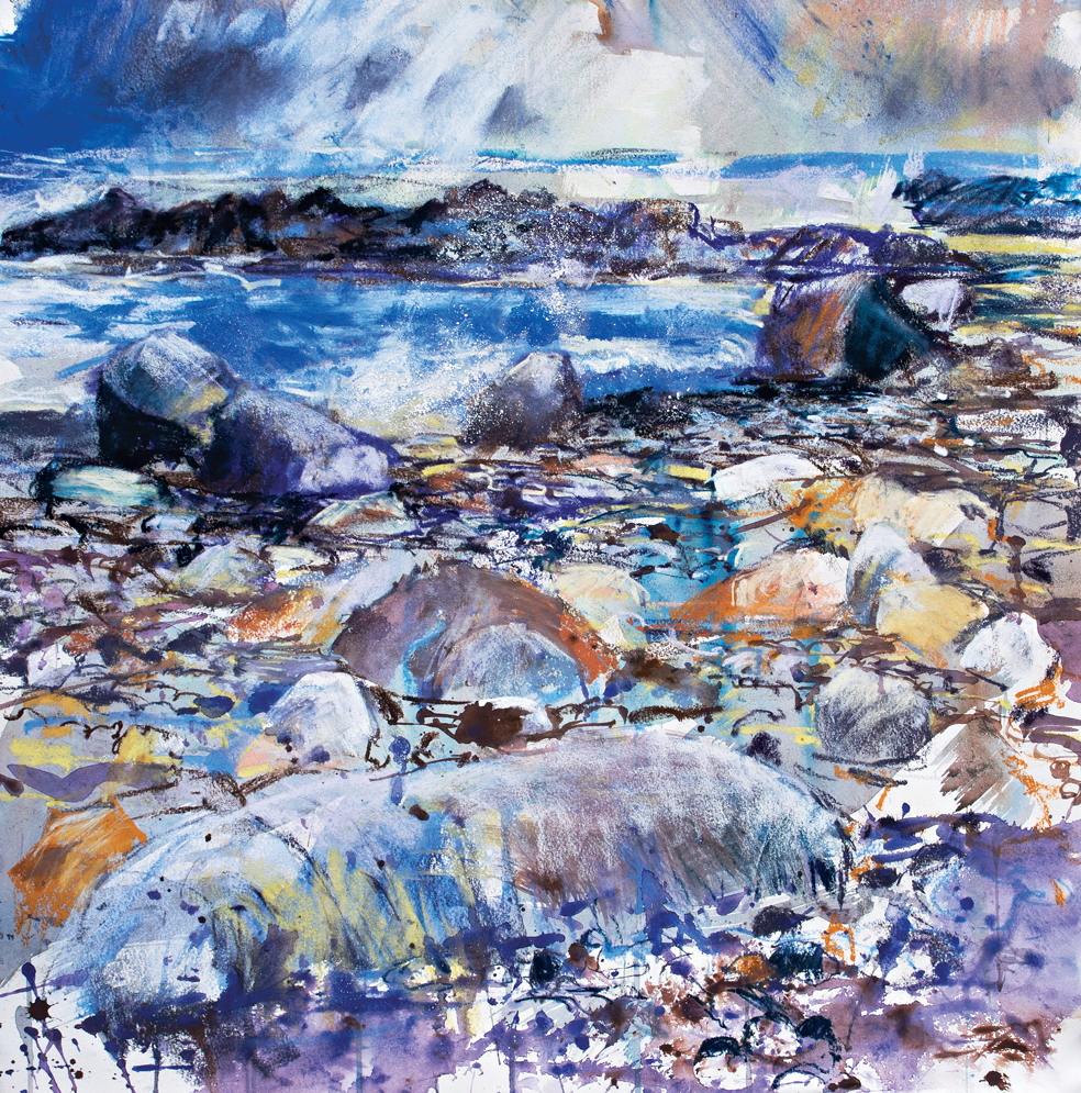 Sandpiper seascape