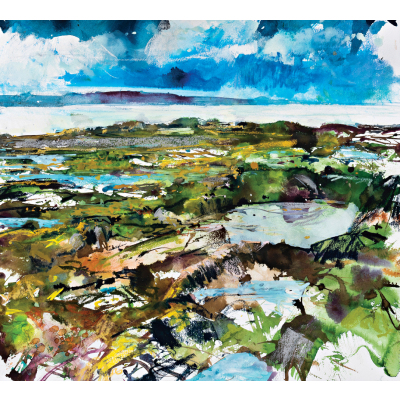 Coastal textures anglesey menai strait sml