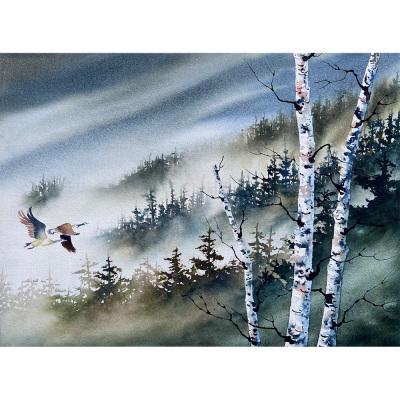 David painting