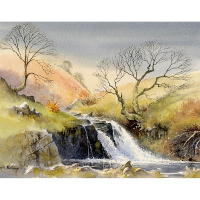 David ws painting