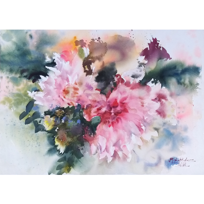 Blooming wash 56x76cm %28re sized%29