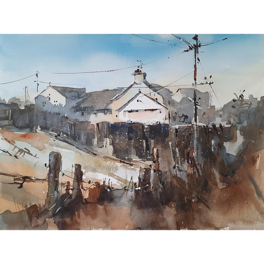 Howard painting