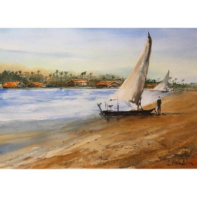 Lilian painting