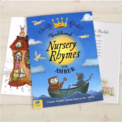 Traditional nursery rhymes cover spread2