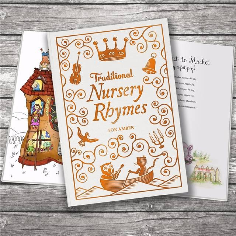 Classic traditional nursery rhymes cover spread3