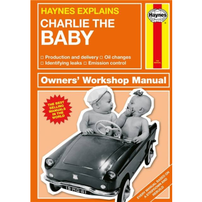 Haynes baby personlised cover