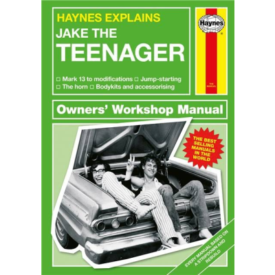Haynes teenager personlised cover