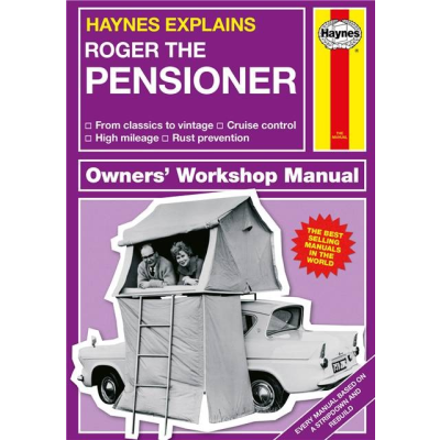 Haynes pensioner personlised cover