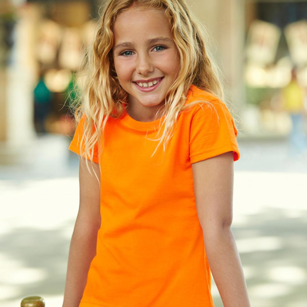 Girl orange