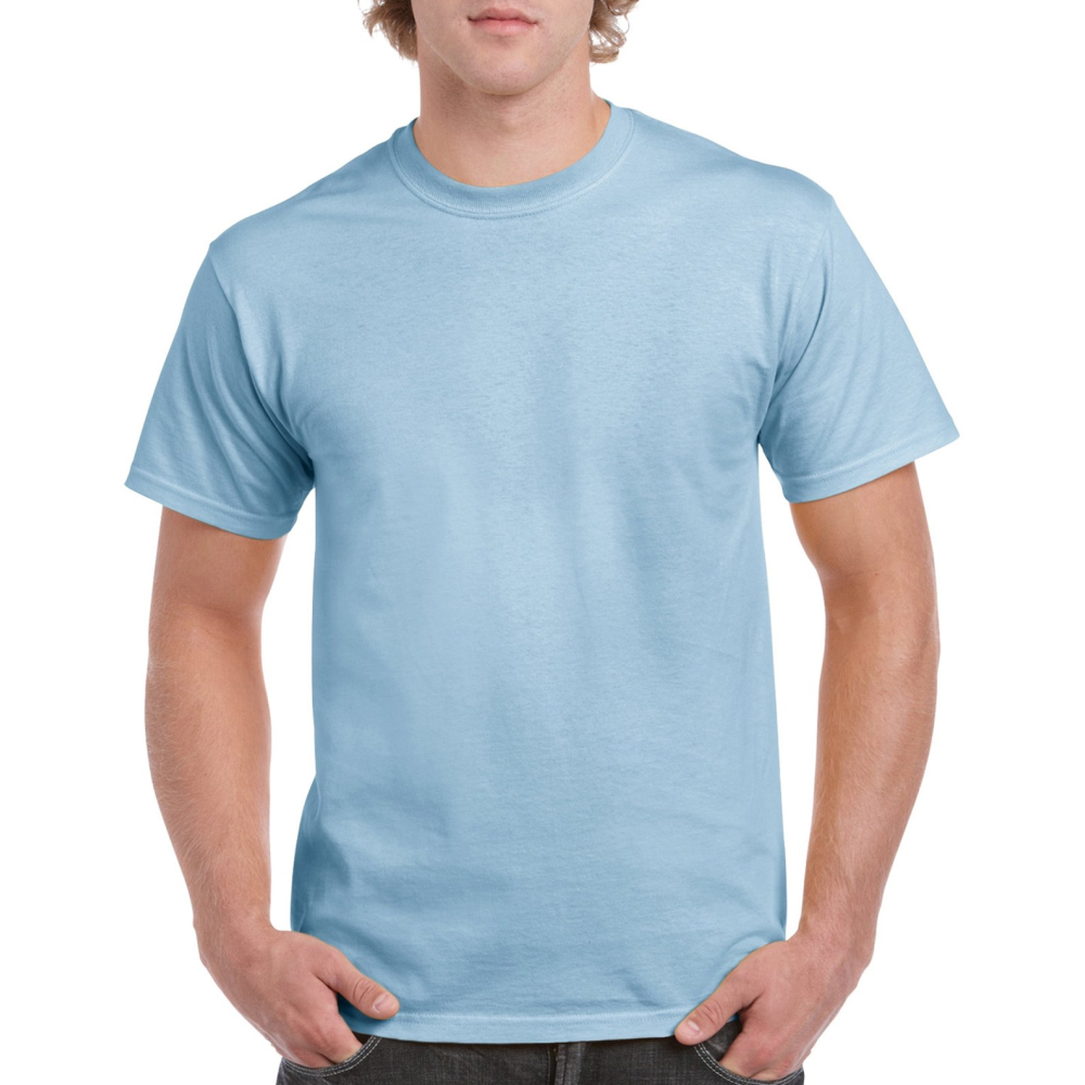 5000 adult t shirt light blue