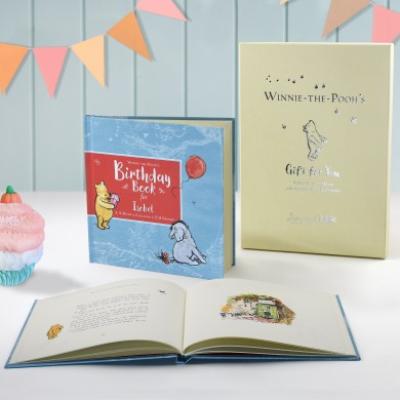 Winnie the poohs birthday book