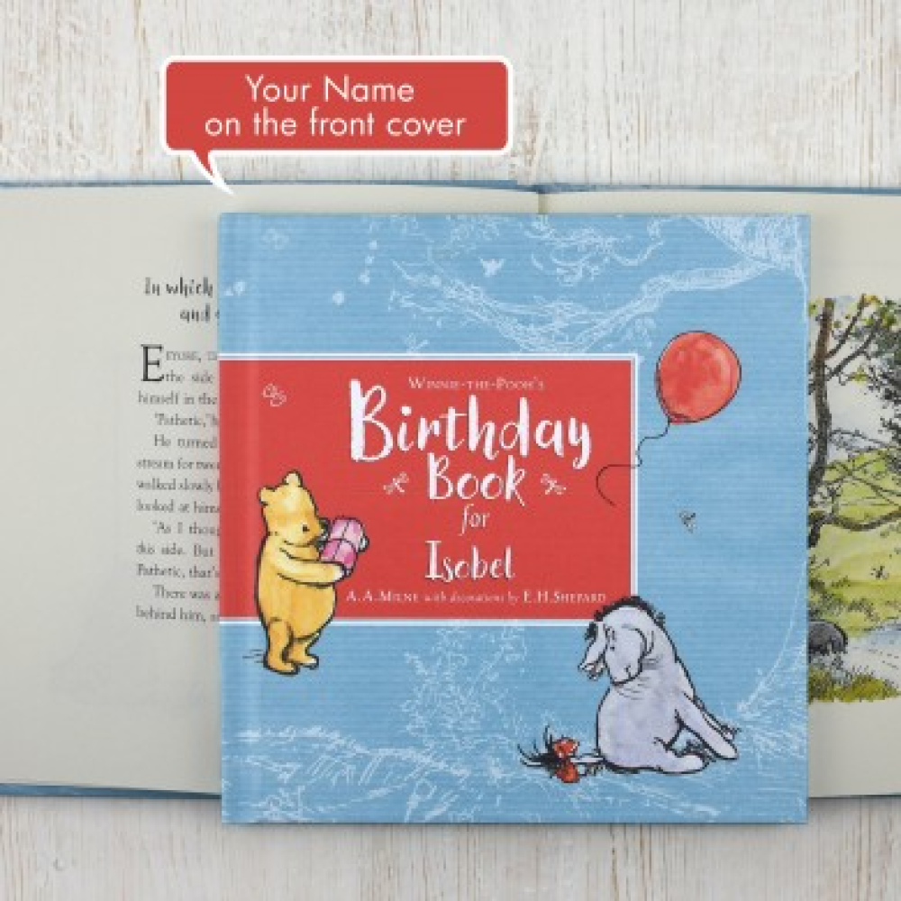 Winnie the poohs birthday book