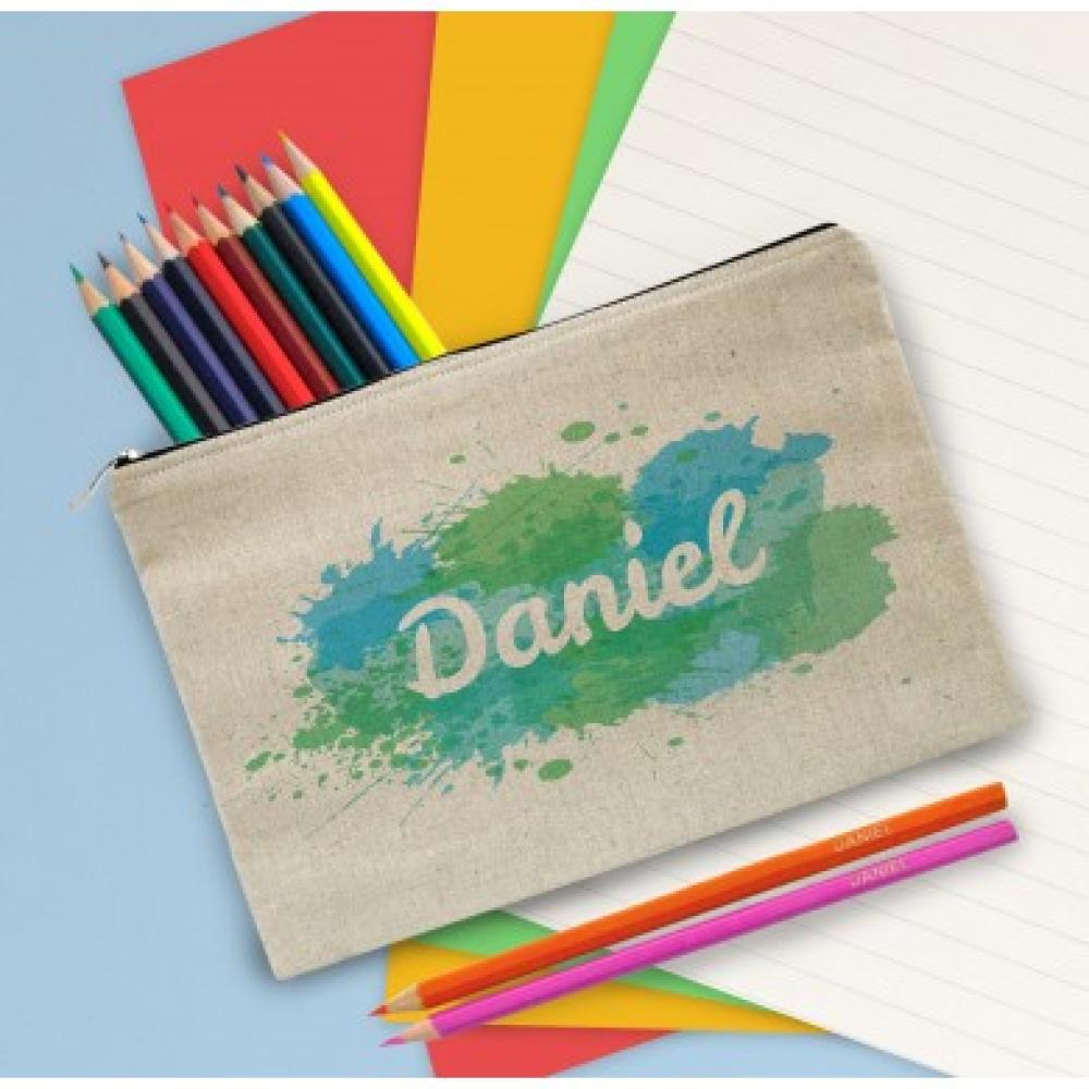 4003388 splash pencilcase green