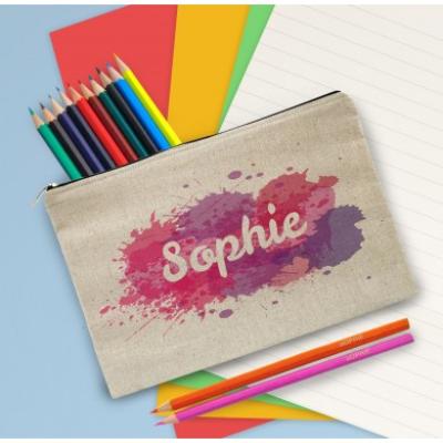 4003388 splash pencilcase pink
