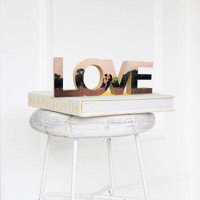 Standing wooden word love image 01